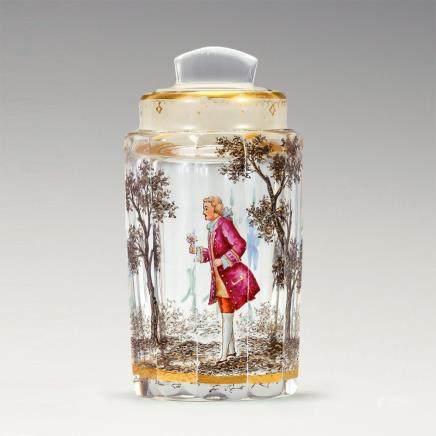 杜姆兄弟 採花貴族紋有塞小瓶
