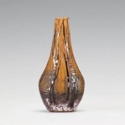 杜姆兄弟 雪景紋花瓶