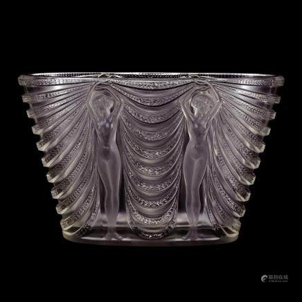 勒内・拉利克 花瓶「歌舞女神」