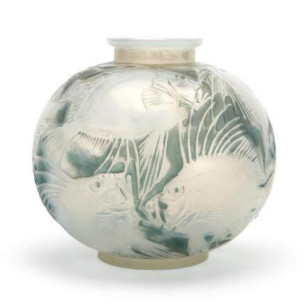 勒内・拉利克 花瓶「魚」