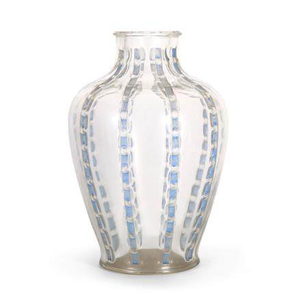 勒内・拉利克 花瓶 「玫瑰帶」