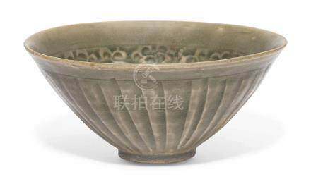 A MOULDED YAOZHOU BOWLSONG DYNASTY (960-1279)