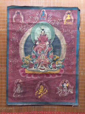 LONG LIFE BUDDHA THANGKA