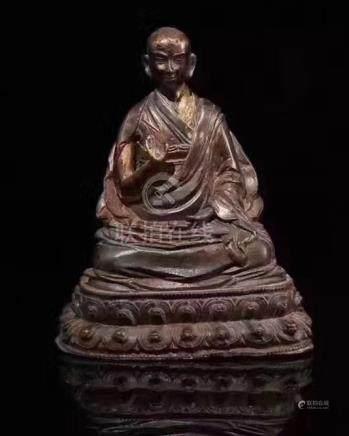 QING DYNASTY TIBET BUDDHA FIGURE