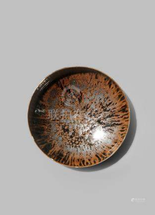 A CHINESE TORTOISESHELL GLAZED BOWL