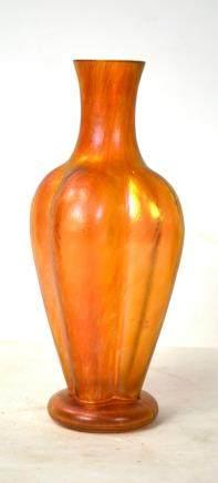Loetz Possible Pink Art Glass Vase