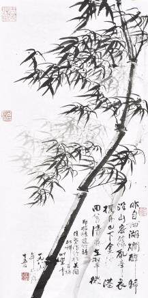 ANONYMOUS (QING DYNASTY), BAMBOO