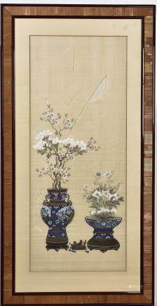 ANONYMOUS (QING DYNASTY), FLOWERS