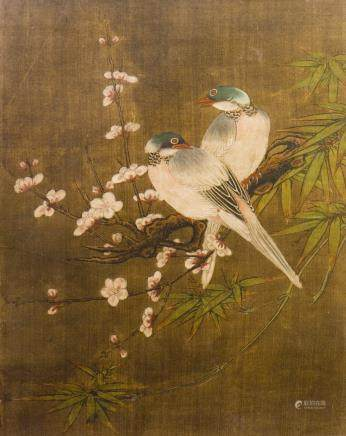 ANONYMOUS (QING DYNASTY), TWO BIRDS