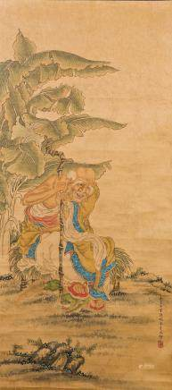 DING GUANPENG (STYLE OF, 1737-1768), FIGURE