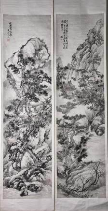 HU TIEMEI (1848-1899), LANDSCAPE