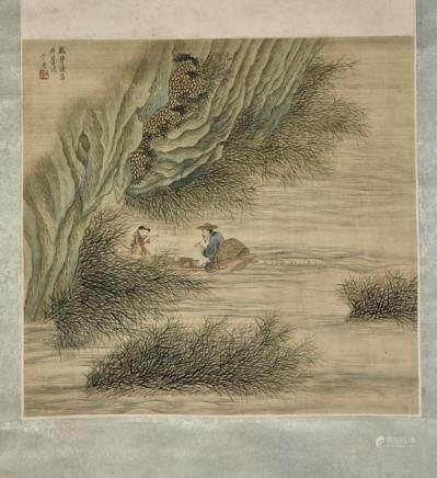 ZI XIANG (QING DYNASTY), LANDSCAPE