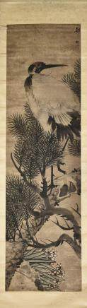 HU TANQING (1865-?), CRANE