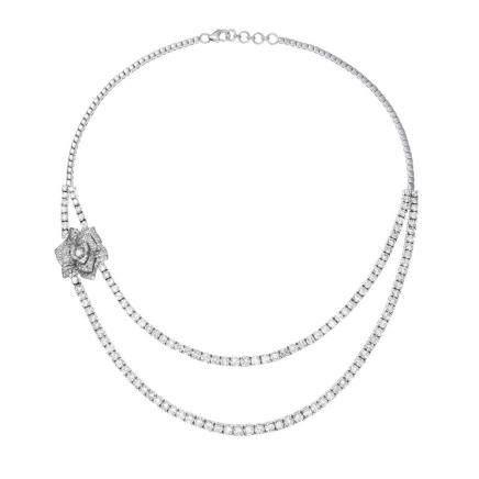 鑽石 白金項鍊