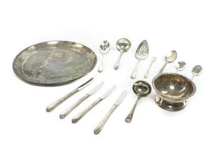 American Antique/Vintage silver plated flatware