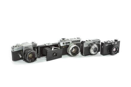 Group of 5 Antique/Vintage Cameras