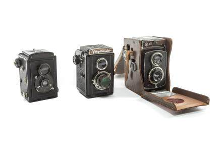 Group of Antique Cameras