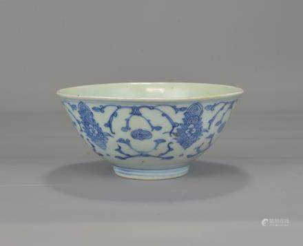CHINESE 19TH CENTURY PORCELAIN BOWL