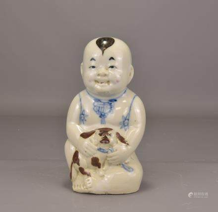CHINESE PORCELIAN FIGURE