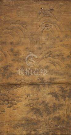 A VERTICAL SCROLL PAINTING