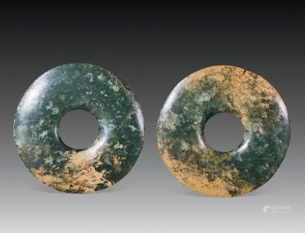 新石器时期圆璧