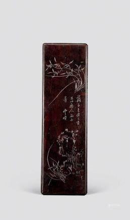 清紫檀木镇纸