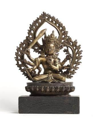 六臂文殊菩薩像