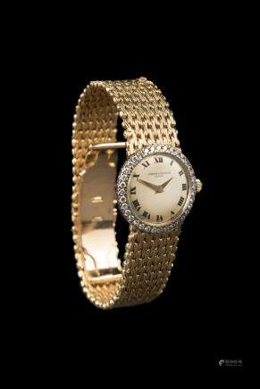 Vacheron Constantin Ladies Vintage 18k yellow gold watch, manual