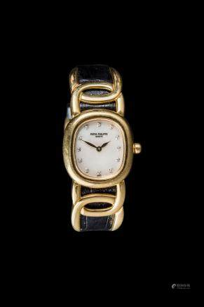 Patek Philipe Golden Ellipse With Diamond Dial, Ladies  4830J-001 Quartz