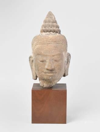 Buddhakopf Khmer,