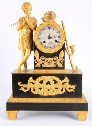 古董青铜钟摆