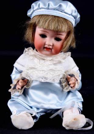 德国古董娃娃