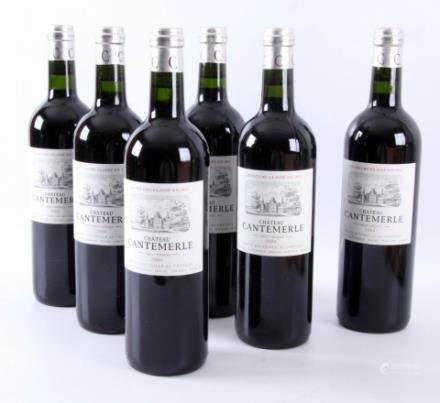 6瓶葡萄酒