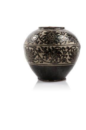 CHINE, période Jin-Yuan, XIIIe siècle. Jarre