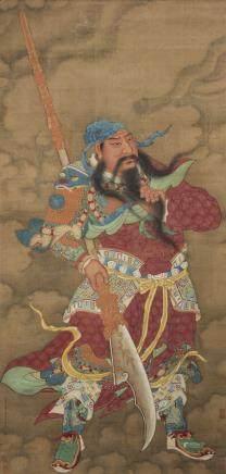 LI GONGLIN (ATTRIBUTED TO, 1049-1106),  GUAN YU