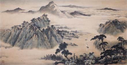 HUANG LEISHENG (1928-), LANDSCAPE