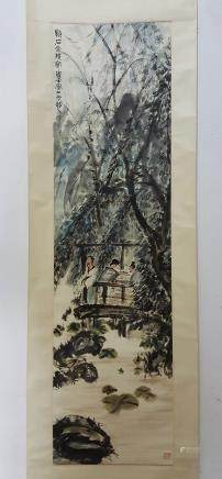 Chinese Scroll Painting,Fu Baoshi(1904-1965)