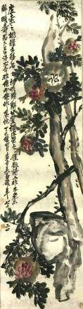 Chinese Scroll Painting,Wu Changshuo(1844-1927)