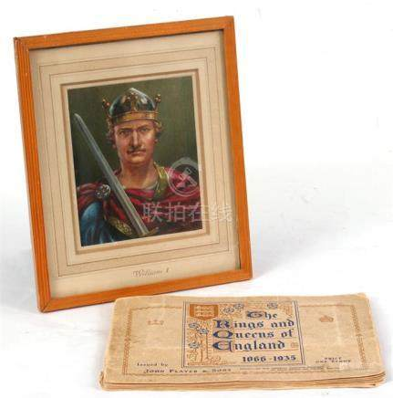 Kenneth Grater original watercolour William I painted for John Player and Sons cigarette and tobacco