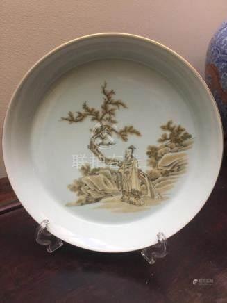 Chinese Porcelain Shallow Dish