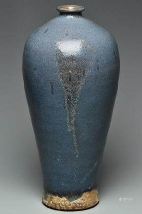 A SONG DYNASTY JUNYAO PURPLE-SPLASHED VASE