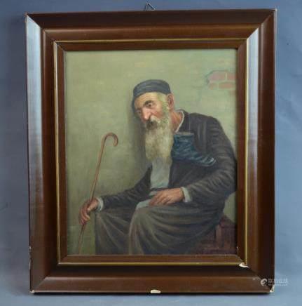 Oil on Board Painting Konstantin Szewcenko Signed