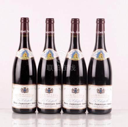 Hermitage La Chapelle 1999, Jaboulet - 4 bouteilles