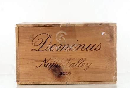 Dominus 2001 - 6 bouteilles