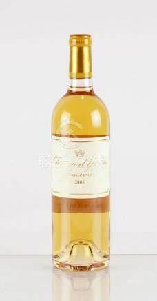 Château d'Yquem 2005 - 1 bouteille