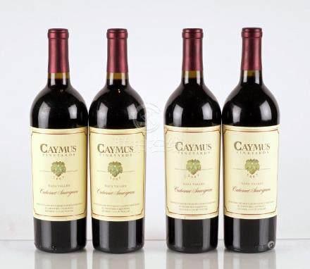 Caymus Cabernet Sauvignon 2005 & 2007 - 4 bouteilles