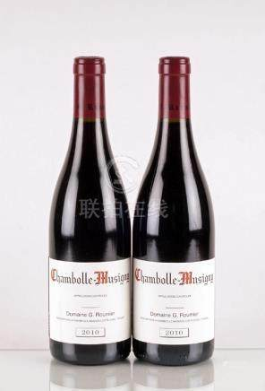 Chambolle-Musigny 2010, G. Roumier - 2 bouteilles