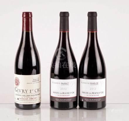 Sélection de Vins de Bourgogne - 3 bouteilles
