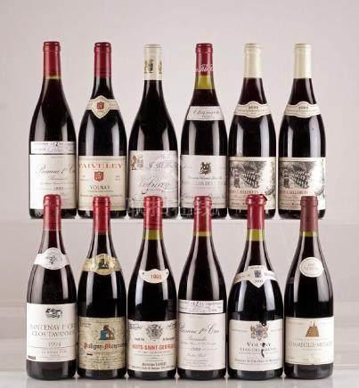 Sélection de Vins de Bourgogne - 12 bouteilles