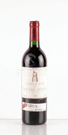 Grand Vin du Château Latour 1988 - 1 bouteille
